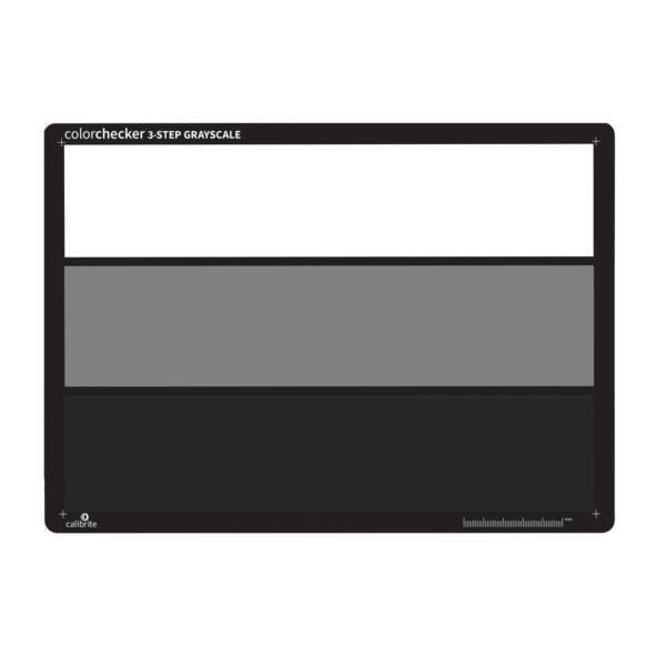 ColorChecker 3-Step Grayscale